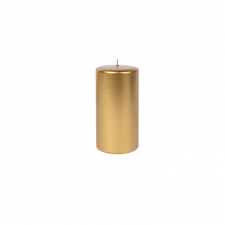 Vela pilar média Dourada