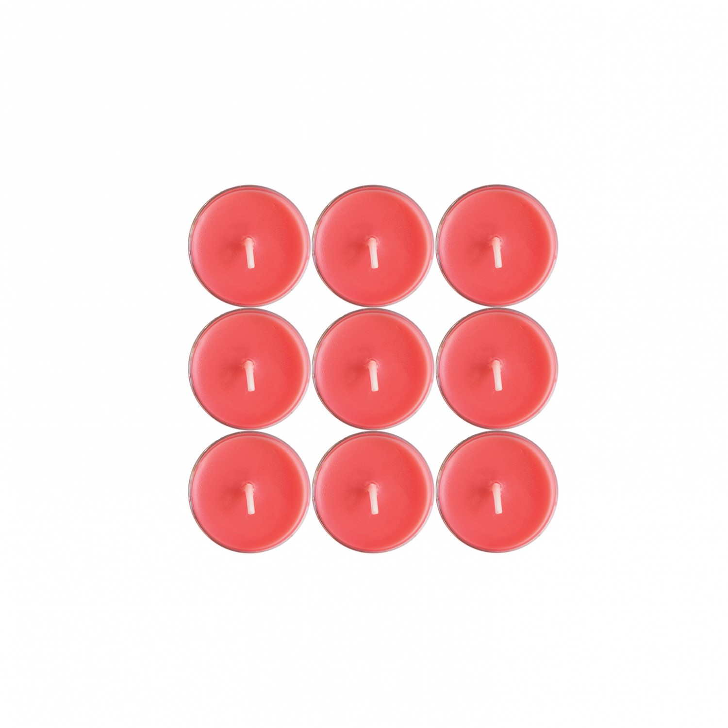 Tealights Coral (pack de 9)