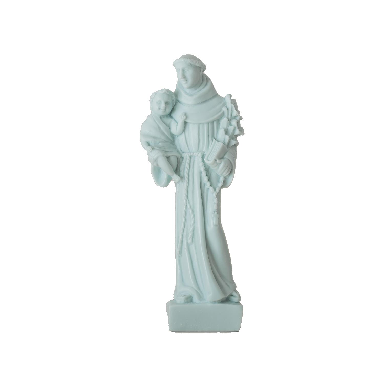 Peça decorativa aromática Stº António azul
