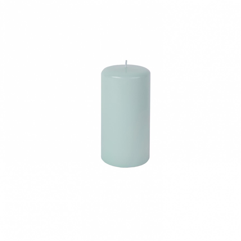 Vela pilar médio Verde claro