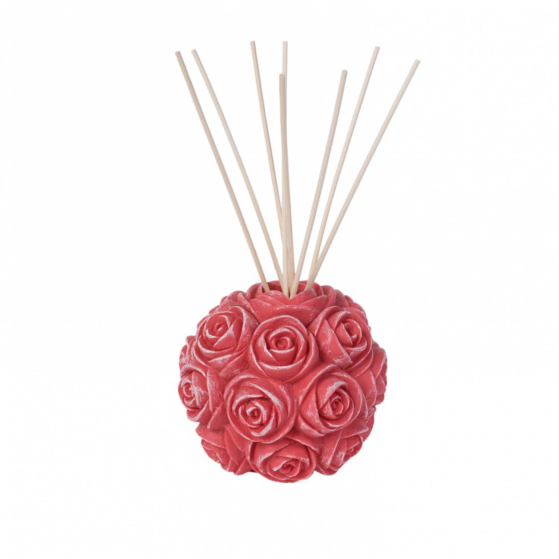 Difusor Bola de rosas Coral