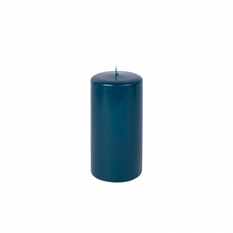 Vela pilar médio Azul Petróleo
