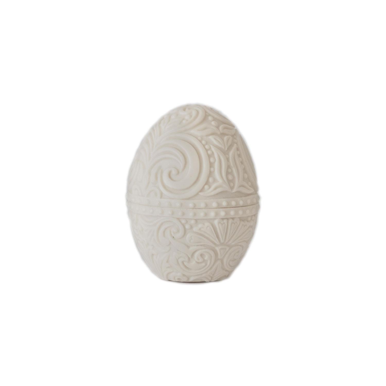 Vela e peça decorativa Ovo