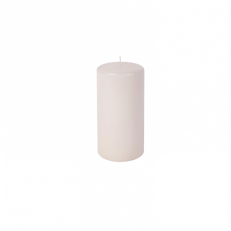 Vela pilar médio cor Marfim